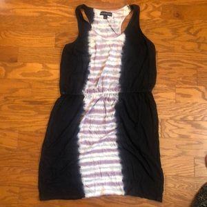 Racerback Tye Dye Stretch Waist Dress